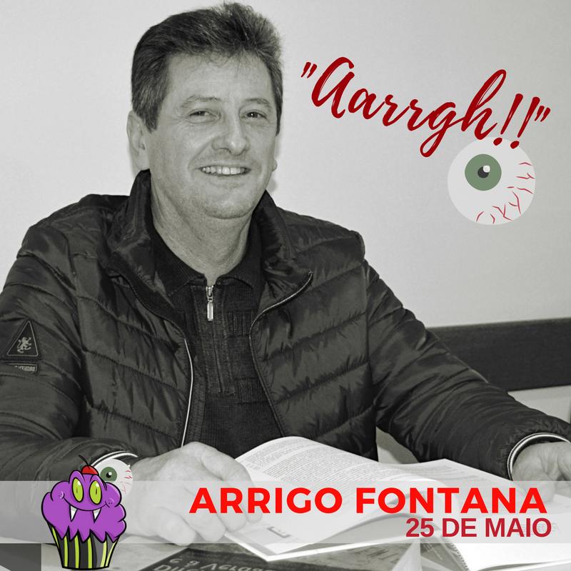 Professor Arrigo Fontana adora filmes de terror!