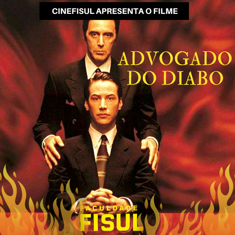 CineFISUL exibe o filme Advogado do Diabo