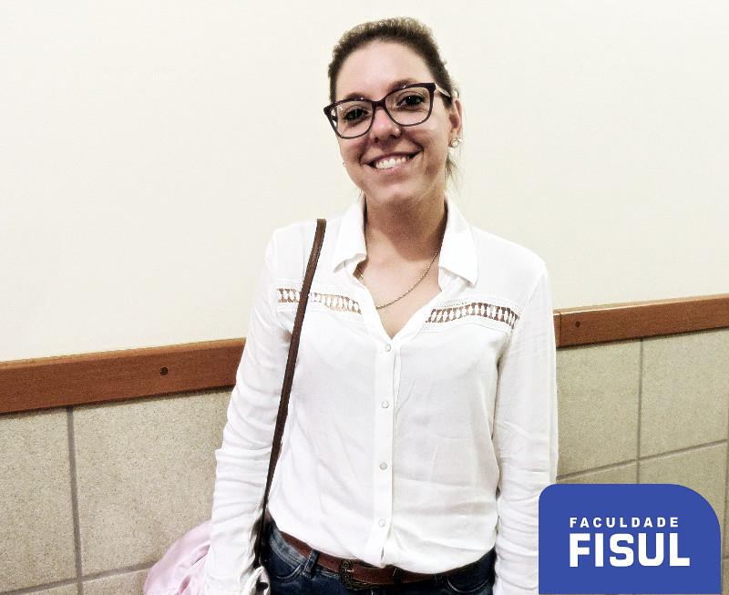 Lucilene Marchi optou pelo curso de Direito.