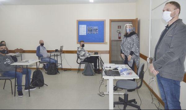 Iniciam as aulas da segunda turma da pós em Controladoria e Finanças