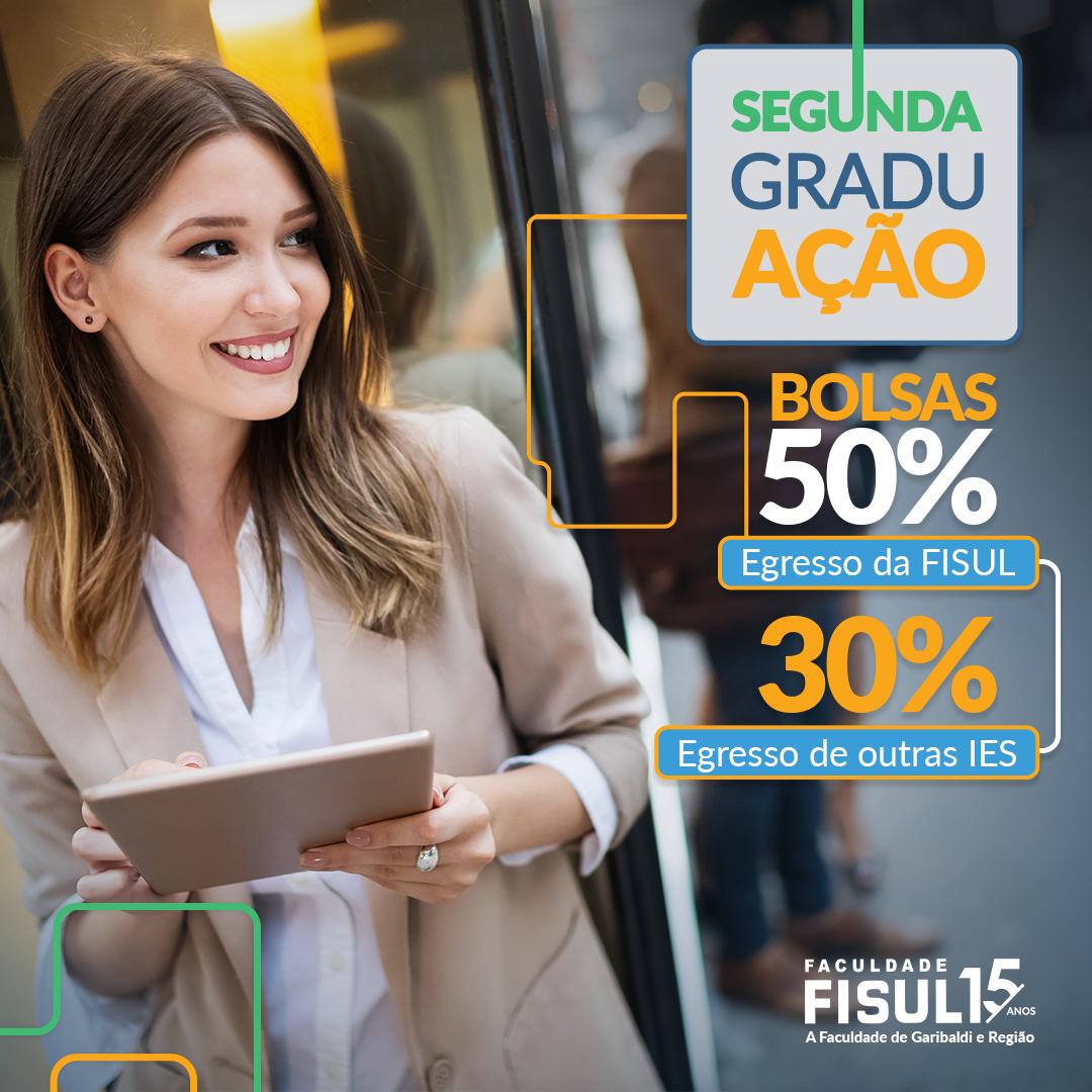 Potencialize sua carreira, faça mais uma graduação na FISUL