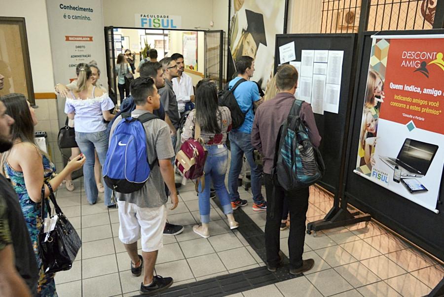 Inscrições através do site www.fisul.edu.br