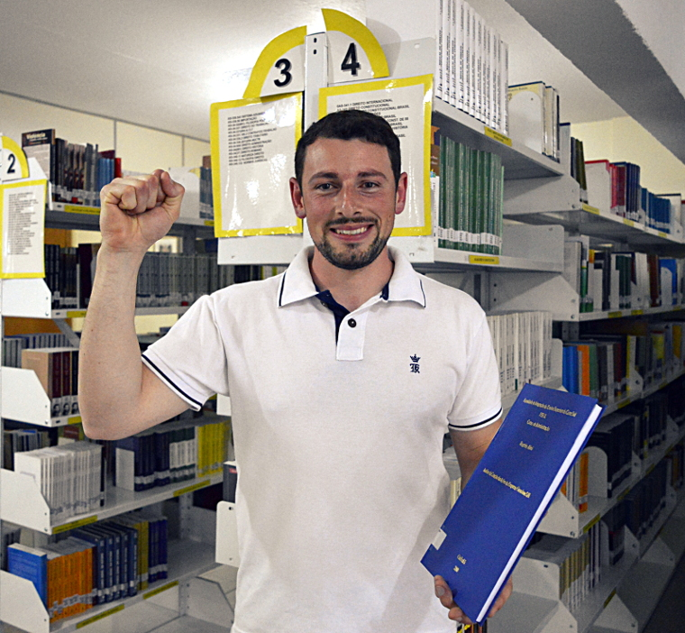 Evandro Scaravonatti, TCC Nota 10.
