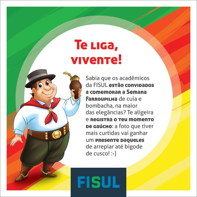 Te liga vivente: #GaudériosdaFISUL já está nas redes sociais
