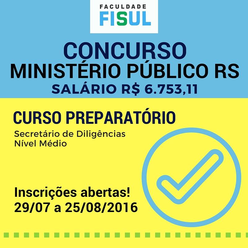 Curso Concurso MP RS
