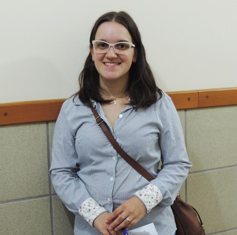 Jacqueline Oleiro vai fazer o Curso de Direito.