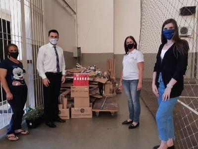 Alunos da FISUL realizam ação ambiental de coleta de resíduos doméstico