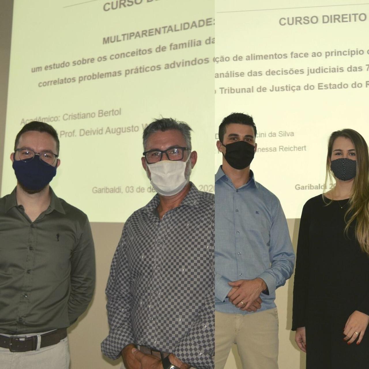 Acadêmicos da primeira turma de Direito da FISUL apresentam seus Trabalhos de Conclusão de Curso
